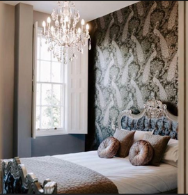 Renaissance French Grey Silver Accents