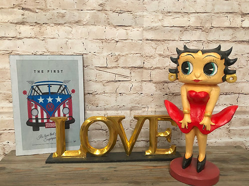 Retro Betty Boop Figurine