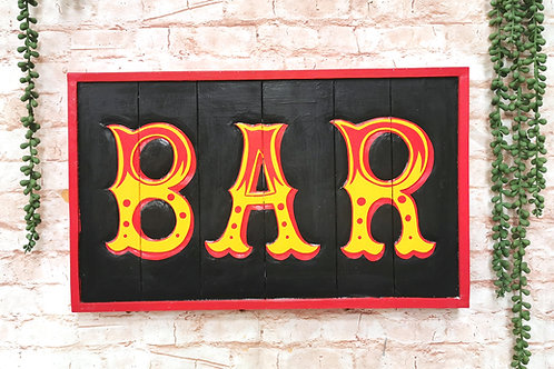 Retro Bar Sign