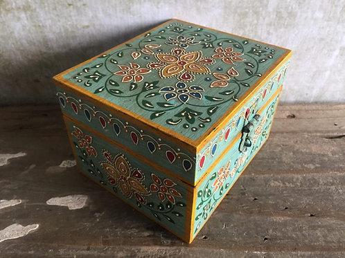 Mint Painted Box