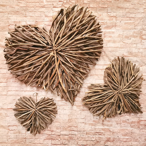 Driftwood Hearts (3 sizes available)