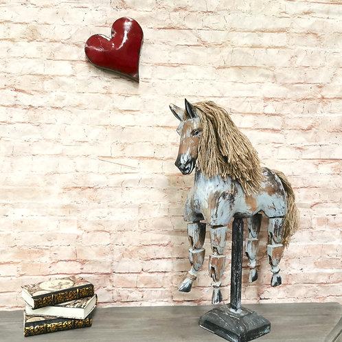 Articulated Horse Ornament