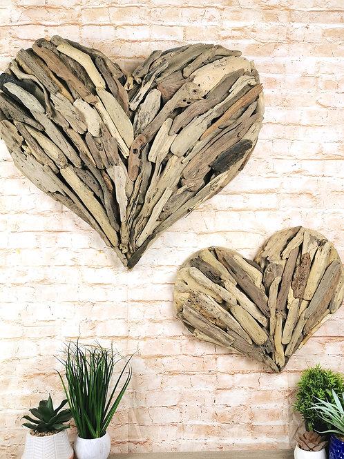 Driftwood Love Heart