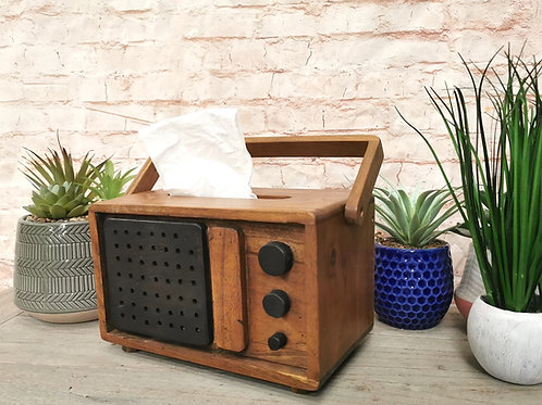 Radio Tissue Box