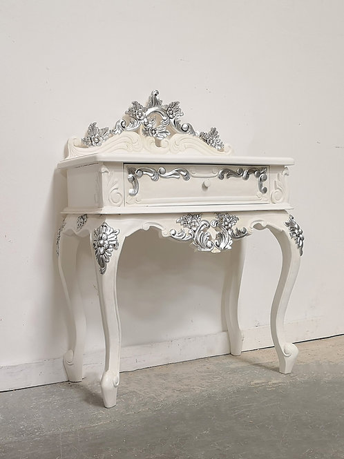Chateau Grande Bedside Silver Accents