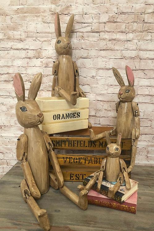 Hare Shelf Sitters