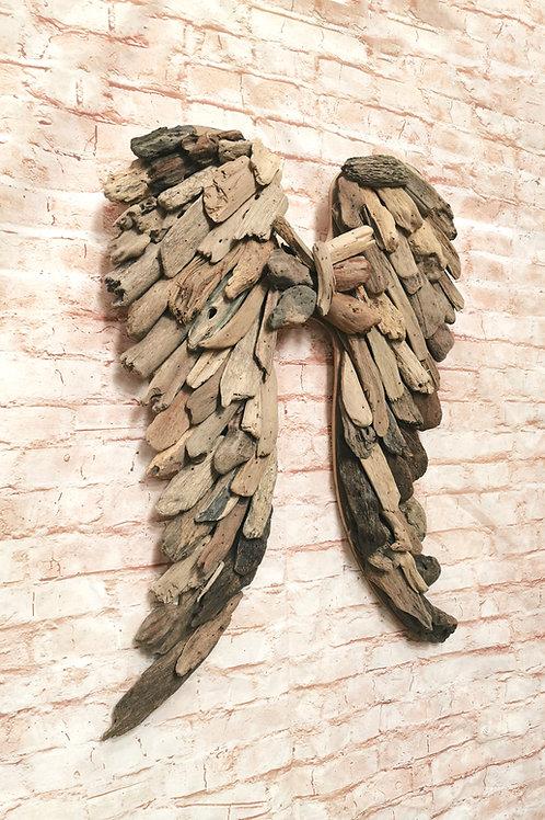 Driftwood Angel Wings