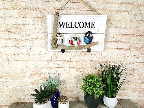 Little Birds Welcome Sign
