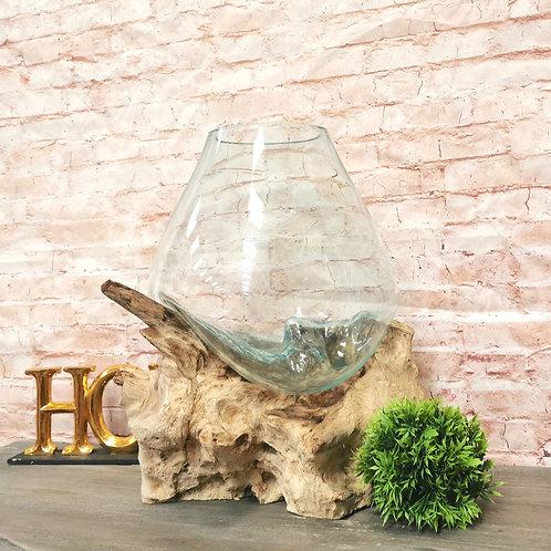 Large Glass Bowl / Terrarium