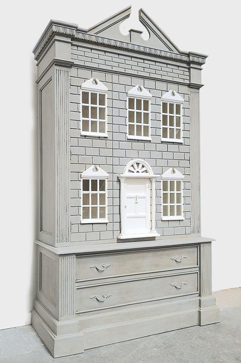Doll's House Wardrobe French Grey
