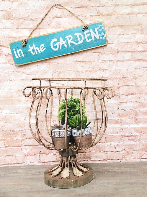 Rustic Garden Urn