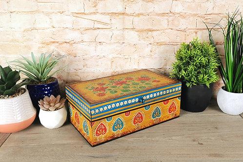 Amber  Floral Box
