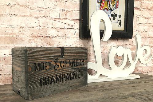 Moet Chandon Crate