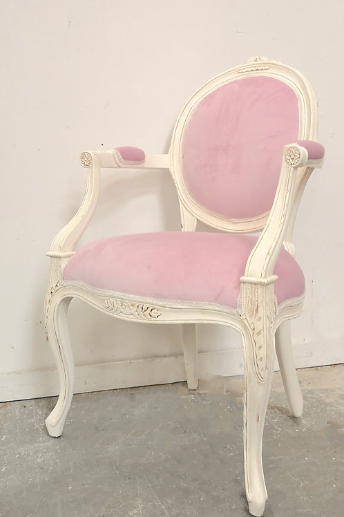 Chateau Armchair French White