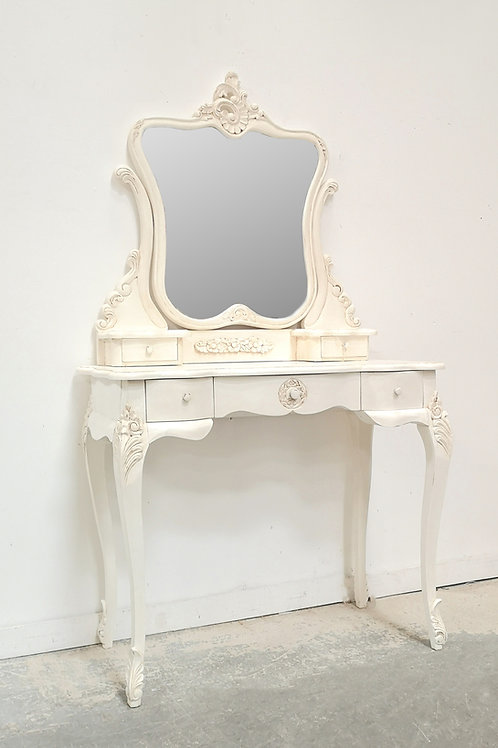Parisian Dressing Table French White