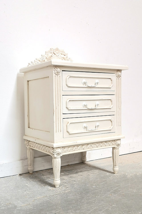 Marseilles Bedside French White