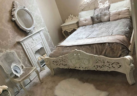 Rococo French White, Chateau Grande Bedsides