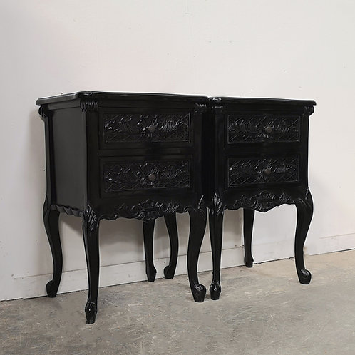 Rococo Noir Bedsides