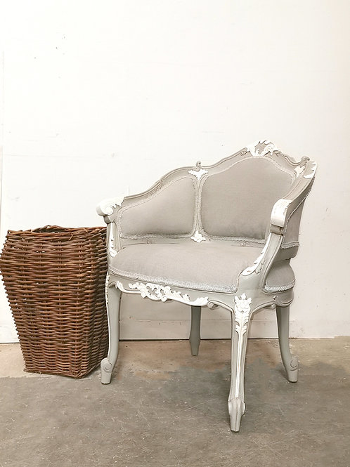 Renaissance Armchair French Grey