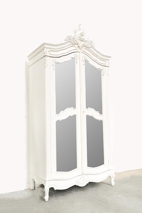 Chateau Armoire French White