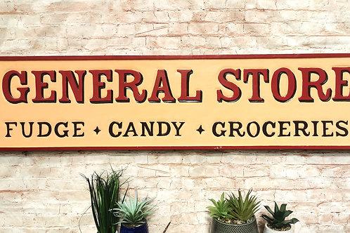 General Store Vintage Sign