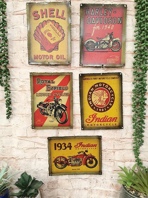 Vintage Metal Prints