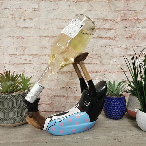 Dressed Up Drunk Duck Wine Bottle Holder
