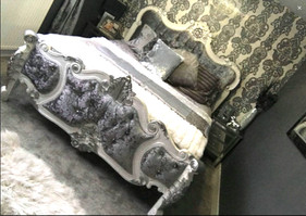 Palais Blanc with Silver Accents