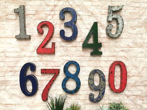 Reclaimed Oil Drum Numbers