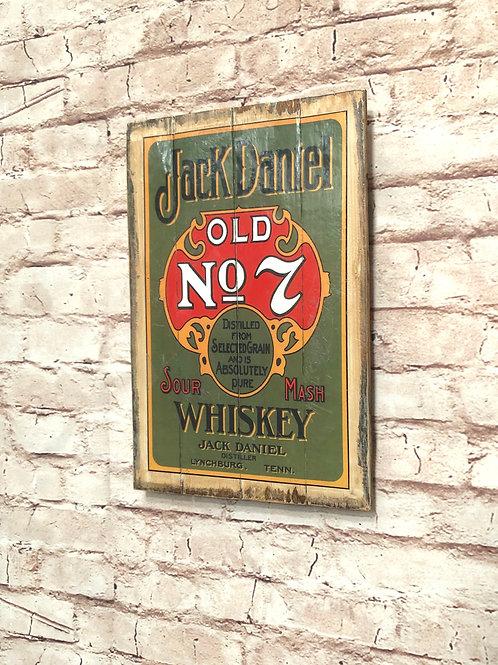 Jack Daniel's Vintage A4 Print
