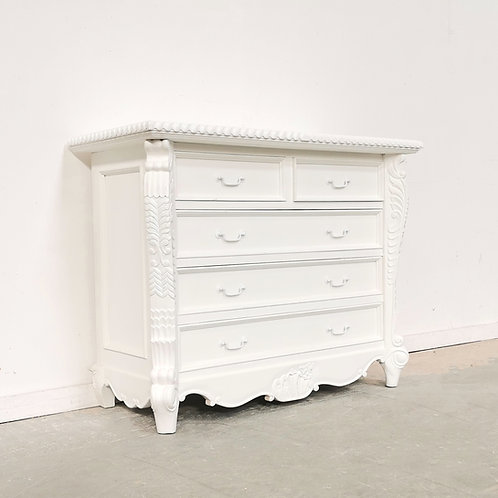 Bombay Chest Blanc