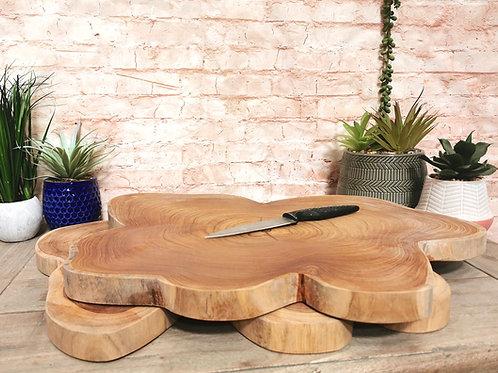 Chunky Teak 50cm Chopping Board