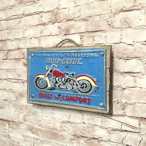 Harley Metal A4 Sign