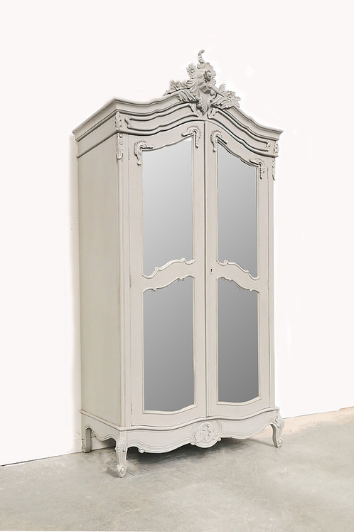 Chateau Armoire French Grey