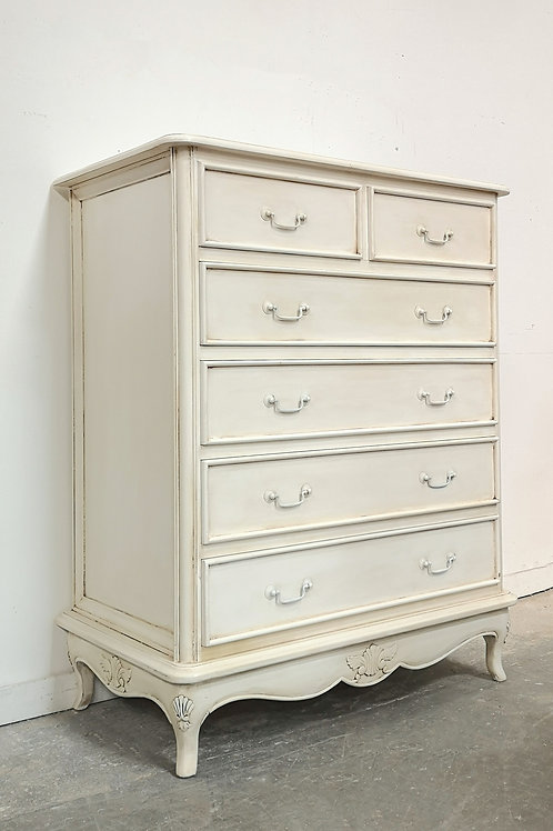 Marcella Chest French White