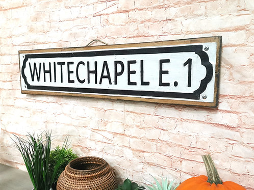 Whitechapel Road Sign