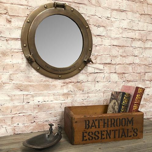 Bathroom Essentials Crate
