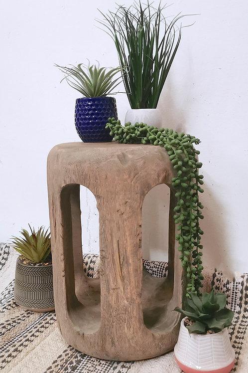 Rustic Retro Side Table / Stool