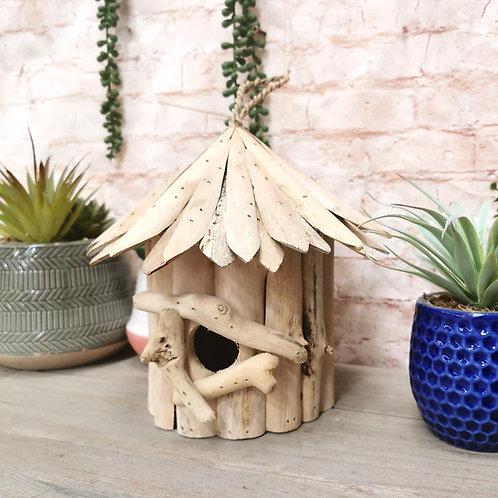 Driftwood Round Bird Cottage