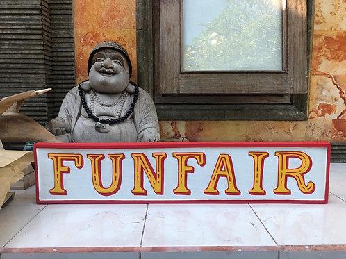 Funfair Sign