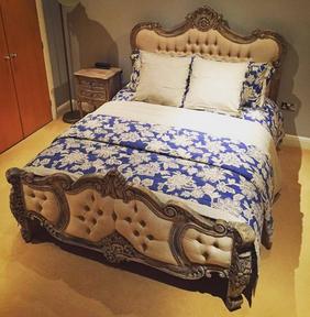 Palais bed Rustique