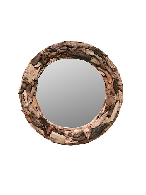 Round Driftwood Mirror (2 sizes available)