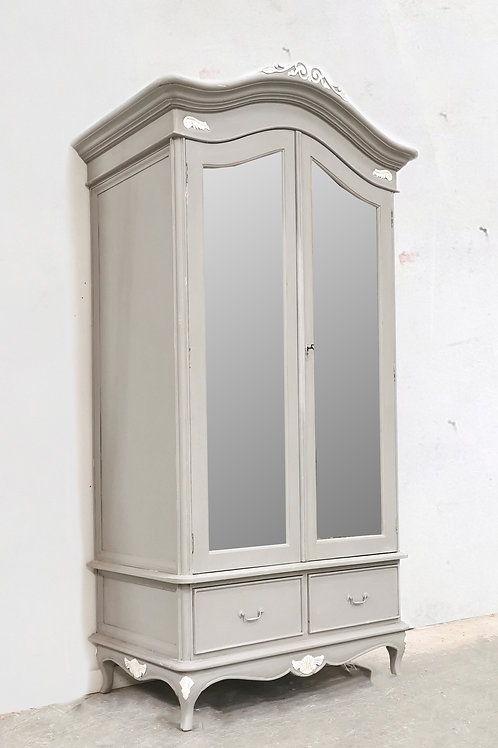 Marcella Double Armoire French Grey
