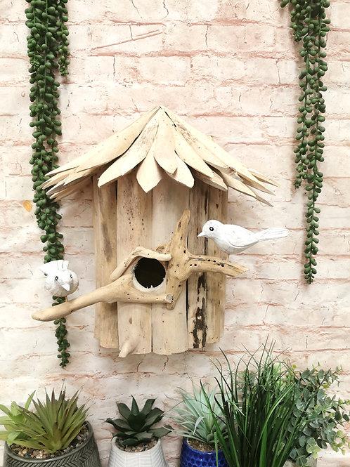 Driftwood Wall Bird House