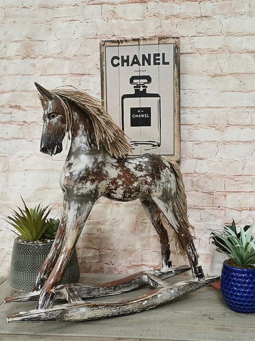 Shabby Chic Rocking Horse (3 sizes available)