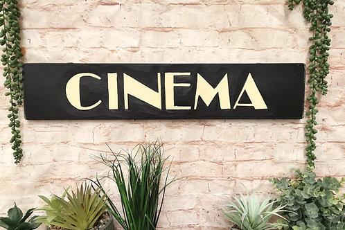 Cinema Vintage Sign