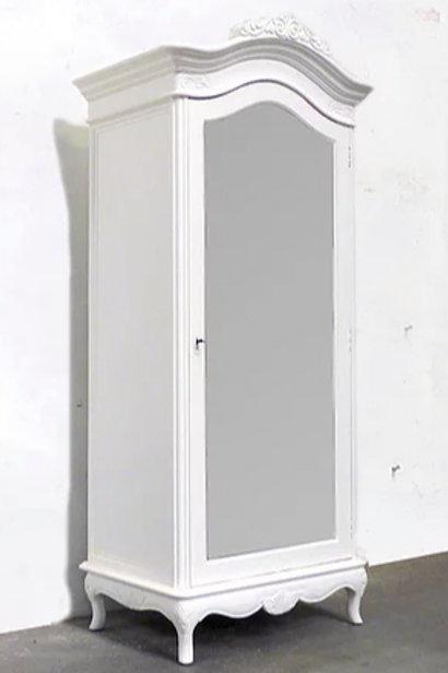 Marcella Petite Single Armoire Blanc