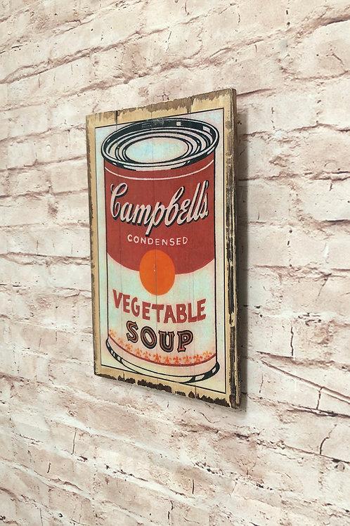 Campbell's Soup Vintage A4 Print