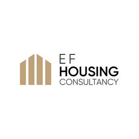 EF Housing Consultancy Logo White Backgr