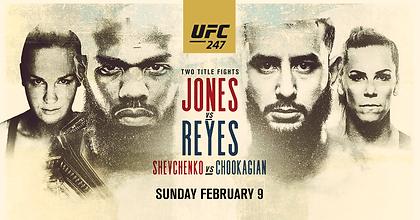 UFC247 at Melbourne Central Lion